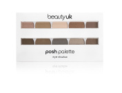 Beauty UK Cosmetics Posh Eye Shadow Palette, Eden Number 1 10 g