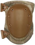 ALTA 50413.18 AltaFLEX Knee Protector Pad, A-TACS AU Cordura Nylon Fabric, AltaLOK Fastening, Flexible Cap, Long, Coyote