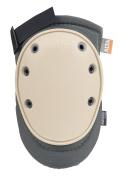 ALTA 50420.50 AltaFLEX NOMAR Knee Protector Pad, Grey Cordura Nylon Fabric, AltaGrip Fastening, Flexible Cap, Long, Beige