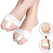 Bunion toe separator Orthopaedic Support foot spreader for Hallux valgus pain relief - Night time splint to help prevent discomfort caused by bunions corns etc - Pair
