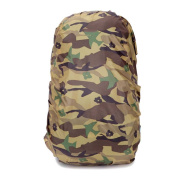 Ruifu Camouflage Backpack Rain Cover 30-40L Foldable Waterproof Dustproof Rucksack Protector for Outdoor Camping Travel