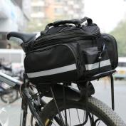 Eshow icycle Bike Cycling Sport Waterproof Rear Seat Bag Pannier Trunk Bag Bicycle Accessories Shoulder Handbag Bag Pannier