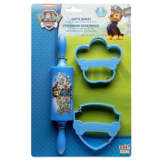 Zak Designs PWPE-S100 Paw Patrol 3 Piece Kids Baking Set for Cookies, Decorated