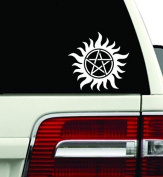 Anti-Possession Symbol Supernatural catholic voodoo demons Decal Sticker for Car Window Laptop wall