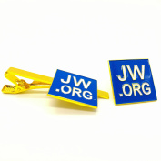 jw.org gift necktie clip and lapel pin set-Square