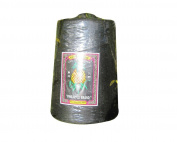 RaanPahMuang Pineapple Brand 100% Spun Polyester Factory Sack Thread Big One Spool, Black