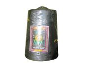 RaanPahMuang Pineapple Brand 100% Spun Polyester Factory Sack Thread Big One Spool, Black