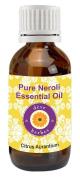 dève herbes Pure Neroli Essential Oil (Citrus aurantium) 100% Natural Therapeutic Grade