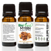 BioFinest Myrrh Oil - 100% Pure Myrrh Essential Oil - Premium Organic - Therapeutic Grade - Best For Aromatherapy - Boost Immune System - Heal Wound - . 10ml)