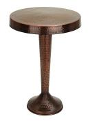 Vintage Inspire Metal Bronze Accent Table 70cm H, 48cm W