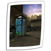 Art Wall Phone Booth 60cm by 41cm Unwrapped Canvas Art by Cynthia Decker with 5.1cm Accent Border