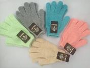 Woods World 5 Colours Scrubbing Exfoliating Gloves Double Side Durable Nylon Shower Gloves Body Scrub Exfoliator for Men, Women & Kids Bath Scrubber for Acne & Dead Cell