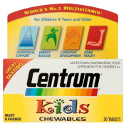 Centrum Kids Chewable Tablets (30) - Pack of 6