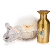 Shelley Kyle Annabelle Shimmer Powder Talc Free Set with Crystal Puff Dish