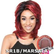 BS611 - Isis Brown Sugar Human Hair Blend Silk Lace Wig (10cm x 10cm Lace)