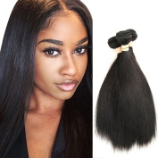 Can Be Dyed Natural Colour Straight Human Hair 1 Bundles Unprocessed 100% Virgin Hair Weave Hair Extensions