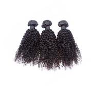 VKHair Collection Kinky Curly Brazilian Virgin Hair 3 Bundles Extensions Pure Human Hair Weave 100g/Bundle 36cm 41cm 46cm