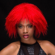 Blush ZOEY Fantasy Style Synthetic Wig - Firecracker Red