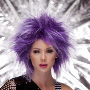 Blush PUNK Fantasy Style Synthetic Wig - Purple Haze