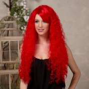 Blush NOVA Fantasy Style Synthetic Wig - Firecracker Red