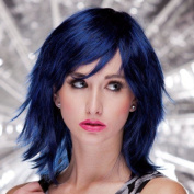 Blush KHARMA Fantasy Style Synthetic Wig - Midnite Blue
