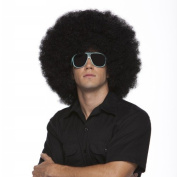 Characters Jumbo Afro Synthetic Wig - Black