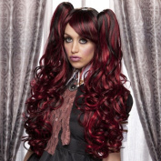 Blush JOI Fantasy Style Synthetic Wig - Red Shadow