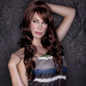 Blush Broadway Fantasy Style Synthetic Wig - Cognac