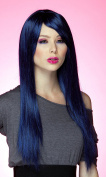 Blush Divine Fantasy Style Synthetic Wig - Midnight Blue