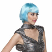 Characters Brassy Synthetic Wig - Light Blue