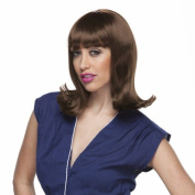 Characters Peggy Sue Synthetic Wig - Brown