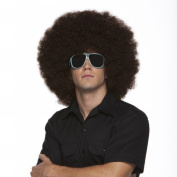 Characters Jumbo Afro Synthetic Wig - Brown