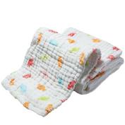 Miniber Super Soft Comfortable Newborn Infant Muslin Gauze Cotton Warm Baby Bath Towels Swaddle Blanket