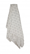 Zack & Tara Swaddle - Arrows in Grey