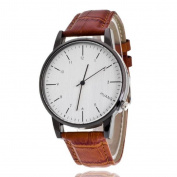 Men's Watches, Womail Fashion Analogue Quartz PU Leather Band Strap Wrist Watch Dress for Men