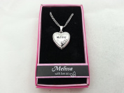 Hallmark Love Locket Necklace with 41cm - 46cm Adjustable Chain - Melissa