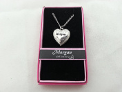 Hallmark Love Locket Necklace with 41cm - 46cm Adjustable Chain - Morgan