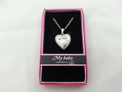 Hallmark Love Locket Necklace with 41cm - 46cm Adjustable Chain - My Baby