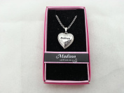 Hallmark Love Locket Necklace with 41cm - 46cm Adjustable Chain - Madison