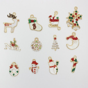 12 PCS different charm accessories as Christmas gift