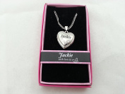 Hallmark Love Locket Necklace with 41cm - 46cm Adjustable Chain - Jackie