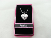Hallmark Love Locket Necklace with 41cm - 46cm Adjustable Chain - Heather