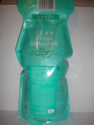 CLAY ESTHE Shampoo & Pack 1000ml Refill