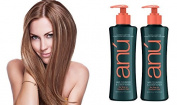 Anu Detangling Anti-Frizz Hair Cleanser and Conditioner 2PK
