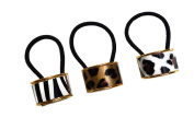 Animal Print Hair Barrettes, Pony Tail Holders, Cuffs and Headbands