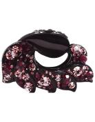 Fancyin New arrival Luxury 8.4cm Austrian Crystal colourful rhinestones hair claw for women