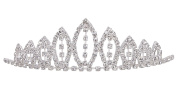 AshopZ Girl's Rhinestone Tiara Crown Little Princess Sweet Hair Accessory
