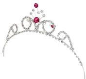 AshopZ Kids Sweet Crystal Tiara Crown for Flower Girls Bridesmaid