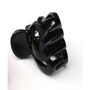 Basicare Mini Claw Clips 2.6 cm, Black 2 per pack