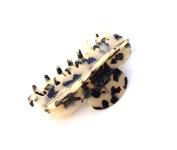 Wardani, Napoleon Jaw clip Tortoiseshell handmade in France from acetate Cellulose